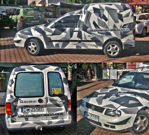 oklejanie samochodów wrocław