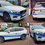 oklejanie samochodów wrocław futurenet bmw team volvo xc60