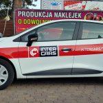 InterCars Renault Clio oklejanie samochodów Wrocław