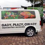 Sklep zoologiczno-wędkarski Kameleon Oklejanie samochodów Wrocław